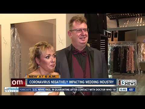 Las Vegas Wedding Industry Takes Massive Hit Amid Coronavirus Pandemic
