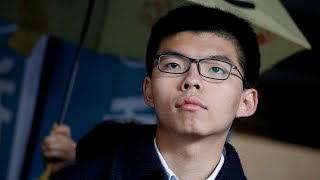 Umbrella Movements Joshua Wong Sentenced to JailAgain