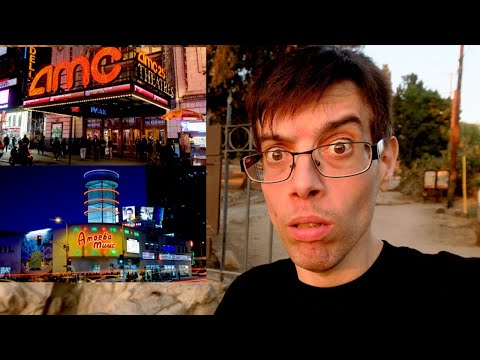 AMC Theatres Won't Book Universal Movies Anymore & My Thoughts On Amoeba Music Hollywood !!!!