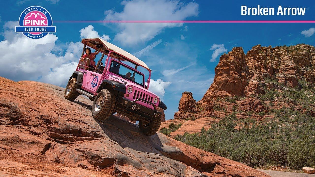 Sedona Jeep Tours   Broken Arrow, Guided Tours | Pink Jeep Tours