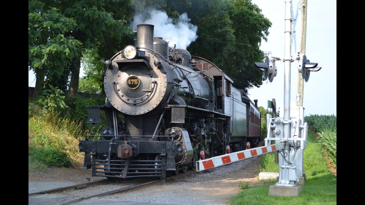 Strasburg Rail Road N&W 475 - YouTube