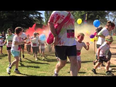 Dye Hard Fun Run, Bathurst, NSW 2015