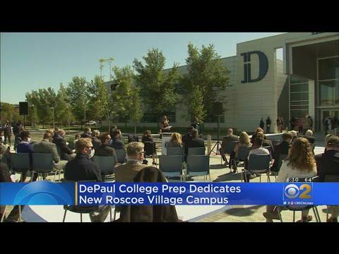 DePaul College Prep Dedicates New Roscoe Village Campus