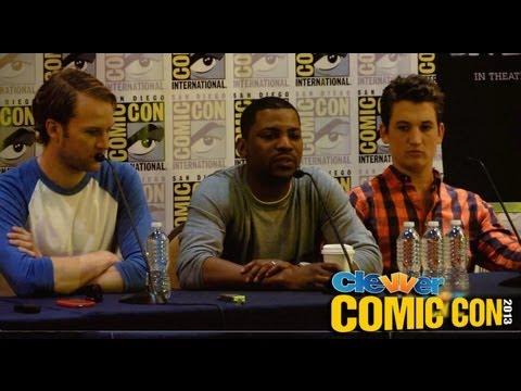 Divergent Panel Comic Con 2013 - Zoe Kravitz, Maggie Q, Miles Teller, Ansel Elgort