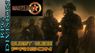 Wasteland 2 - Getting Past Turrets & 2 Ways To Resolve Conflict (Prison)