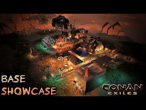 Northern Oasis Village Base Showcase | CONAN EXILES