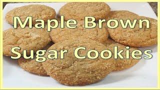 Maple Brown Sugar Cookies!