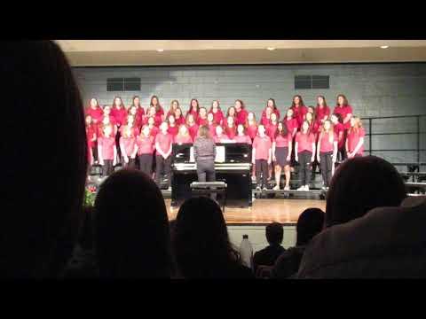 "5/23/19 7th grade Chippewa Falls Middle School. ""Jar of Hearts"""
