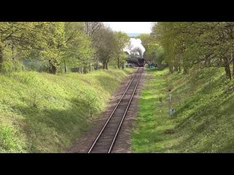 Flying Scotsman, Bluebell Railway - Listen For The Weak Whistle Moment!