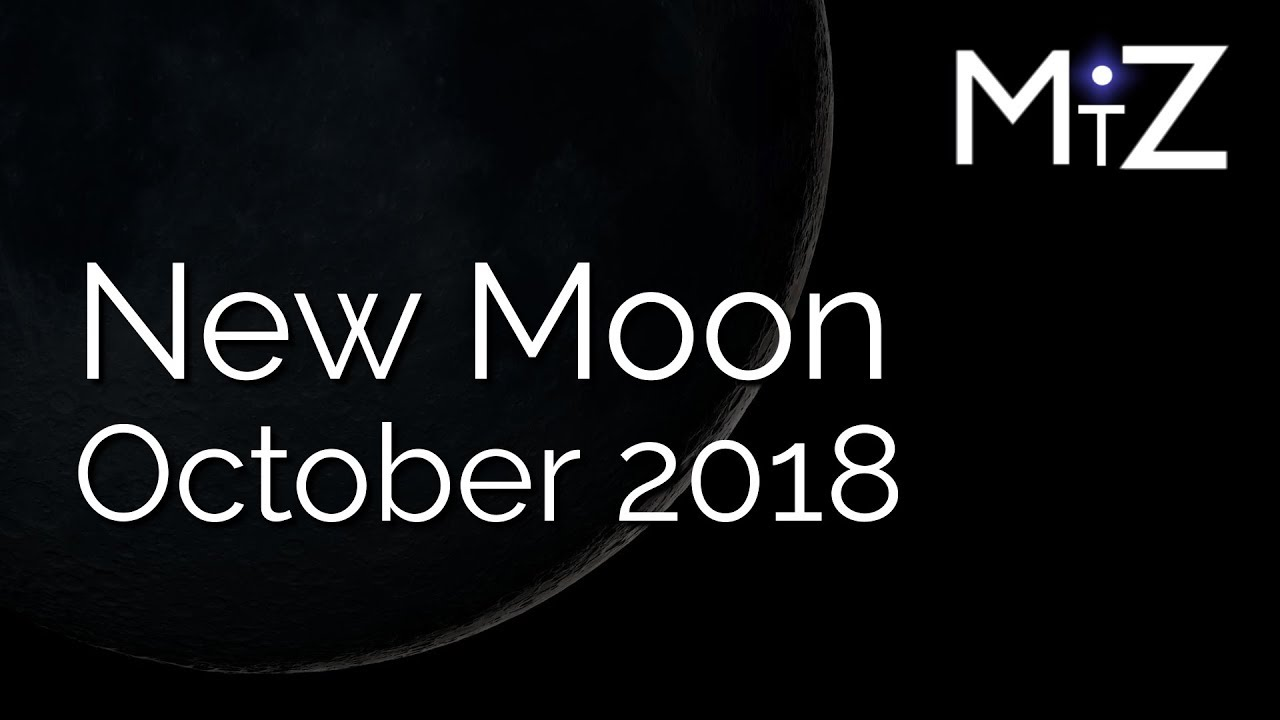 Download New Moon October 8th & 9th 2018 - True Sidereal Astrology