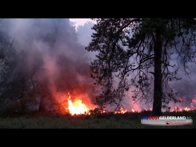 24-05-2018 Grote heidebrand in Vorden