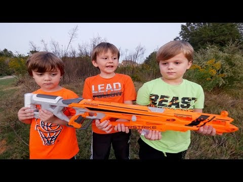 Nerf Search and Destroy onboard UAV