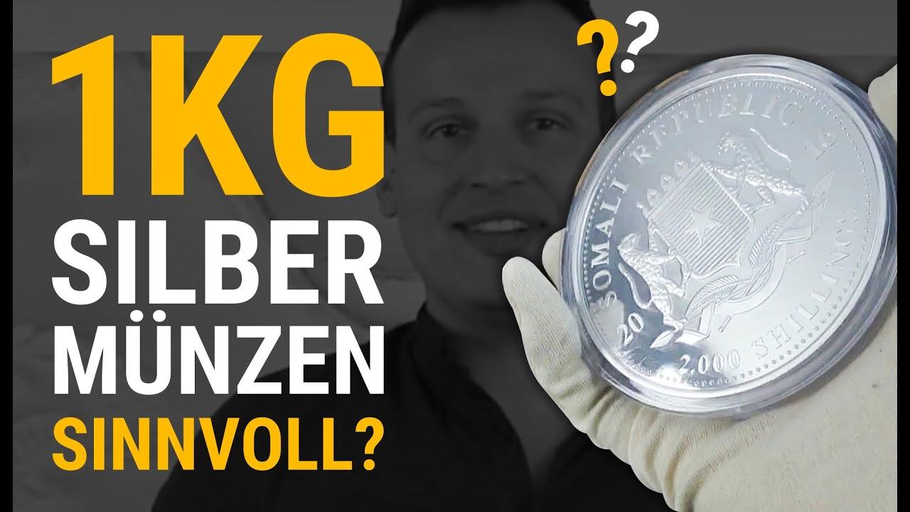 1kg Silbermünzen Kaufen Sinnvoll Silber Youtube