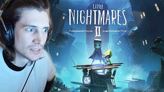 MIND-BLOWING! - Little Nightmares 2 Full Gameplay | xQcOW Playthrough