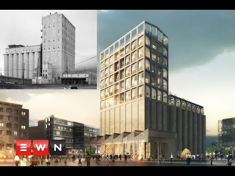 An inside look: From grain silo to SA's first contemporary art museum