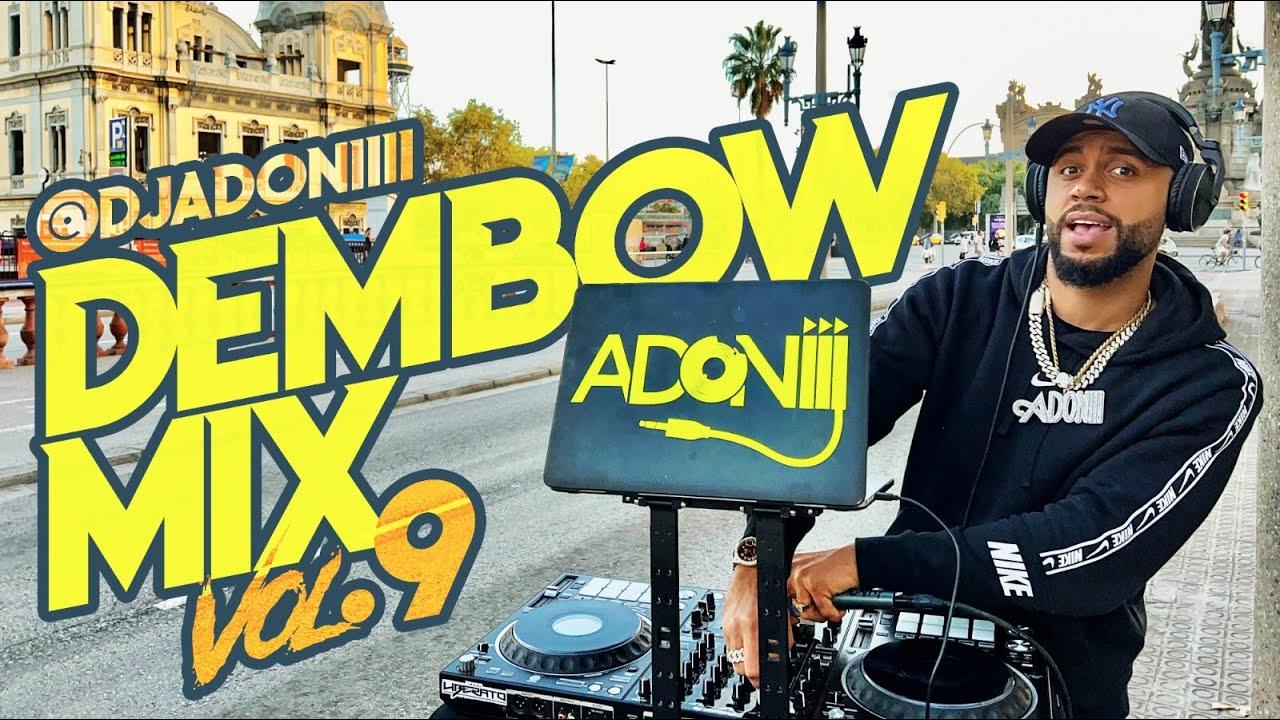 Download LOS DEMBOW MAS PEGADO 😱 DEMBOW MIX VOL 9 🍑 MEZCLANDO EN VIVO DJ ADONI 🎤🎧