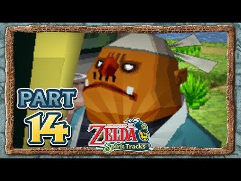 The Legend of Zelda: Spirit Tracks - Part 14 - Bridge Worker!