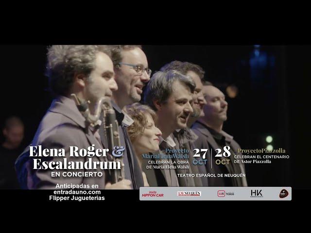 Elena Roger & Escalandrum - Fedorco Producciones