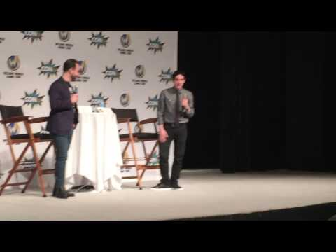 Actor Robin Lord Taylor Did His Penguin Walk For WizardWorld St. Louis