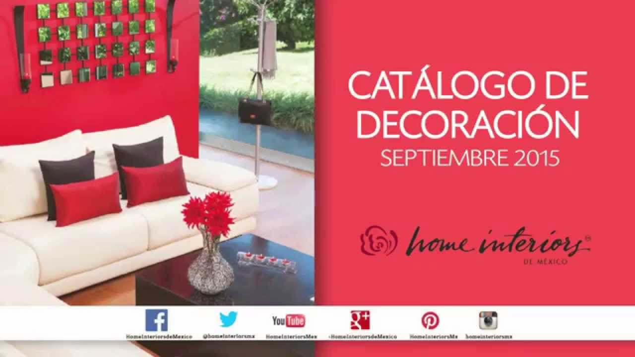 Nuevo Cat Logo De Decoraci N Septiembre 2015 De Home