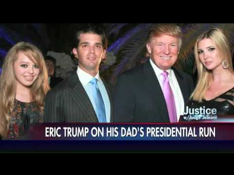 Eric Trump: Establishment upset they cannot control my dad