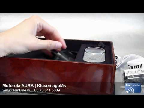 Motorola Aura Kicsomagolás | www.GsmLine.hu