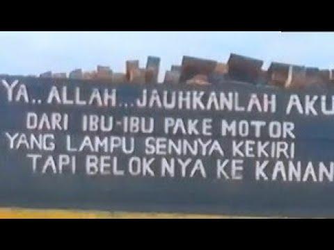 20 Kata Mutiara,unik, Dan Lucu Para Supir Truk Indonesia!!!! (Lukisan Truk Indonesia)