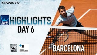 Highlights: Dimitrov Saves 2 M.P., Nadal Cruises In Barcelona