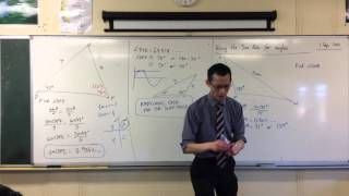 Using the Sine Rule to Find Angles (3 of 3: Searching for ambiguity)