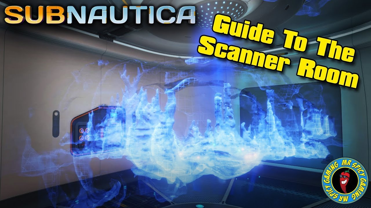 Subnautica Scanner Room Upgrades Not Working – Subnautica fully upgraded scanner room!
