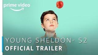 Young Sheldon - Season 2 | Iain Armitage | Official Trailer | TV Show | Amazon Prime Video