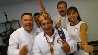 Saludo de los líderes del Movimiento Alternativo Indígena y Social MAIS a Darío Vásquez