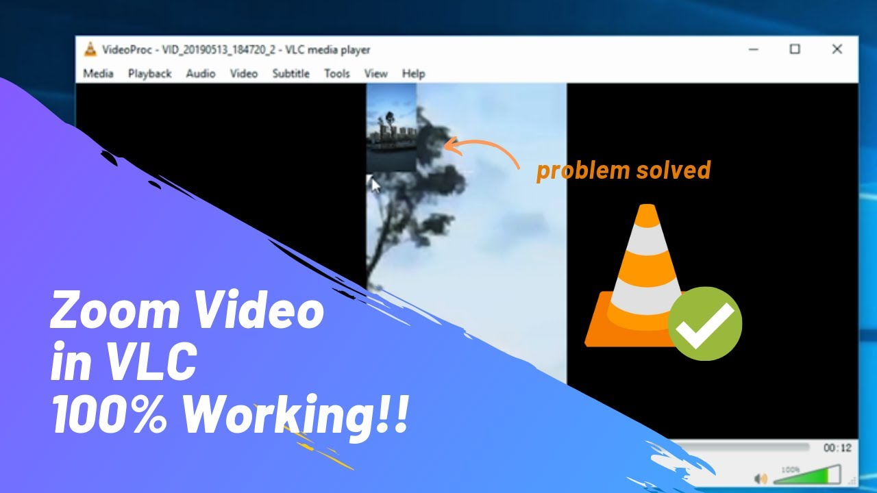 Tutorial: How to Zoom Videos in VLC - Interactive Zoom NOT WORKING FIXED!!
