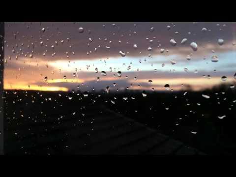 Sunset in Rainy Glasgow - 25/1/16