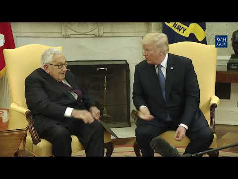 President Trump Meets with Dr. Henry Kissinger