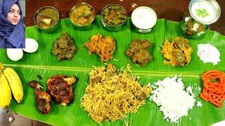 16 வகை கறி விருந்து / Non Veg Feast Preparation in Tamil / Mutton Briyani Recipe in Tamil