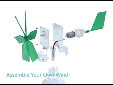Verrassend Doe-het-zelf Windmolen 4M KidzLabs - Ikwilleukspeelgoed.nl - YouTube OR-22
