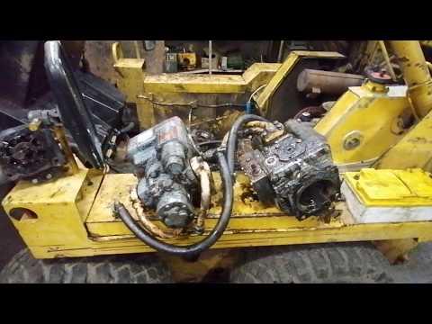 МКСМ 800 К ремонт гидравлики.