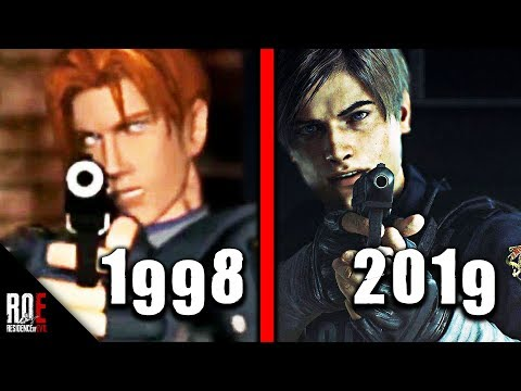 RESIDENT EVIL 2: REMAKE || THEN & NOW | TRIBUTE