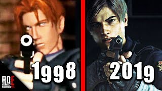 RESIDENT EVIL 2: REMAKE    THEN & NOW   TRIBUTE