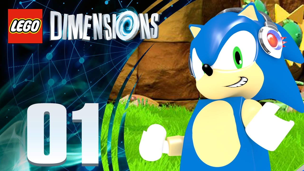 Lego Dimensions Sonic Level Pack Wii U Episode 1 Youtube