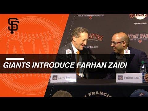 Farhan Zaidi named President of Baseball Operations