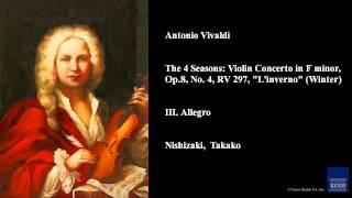 Antonio Vivaldi III Allegro