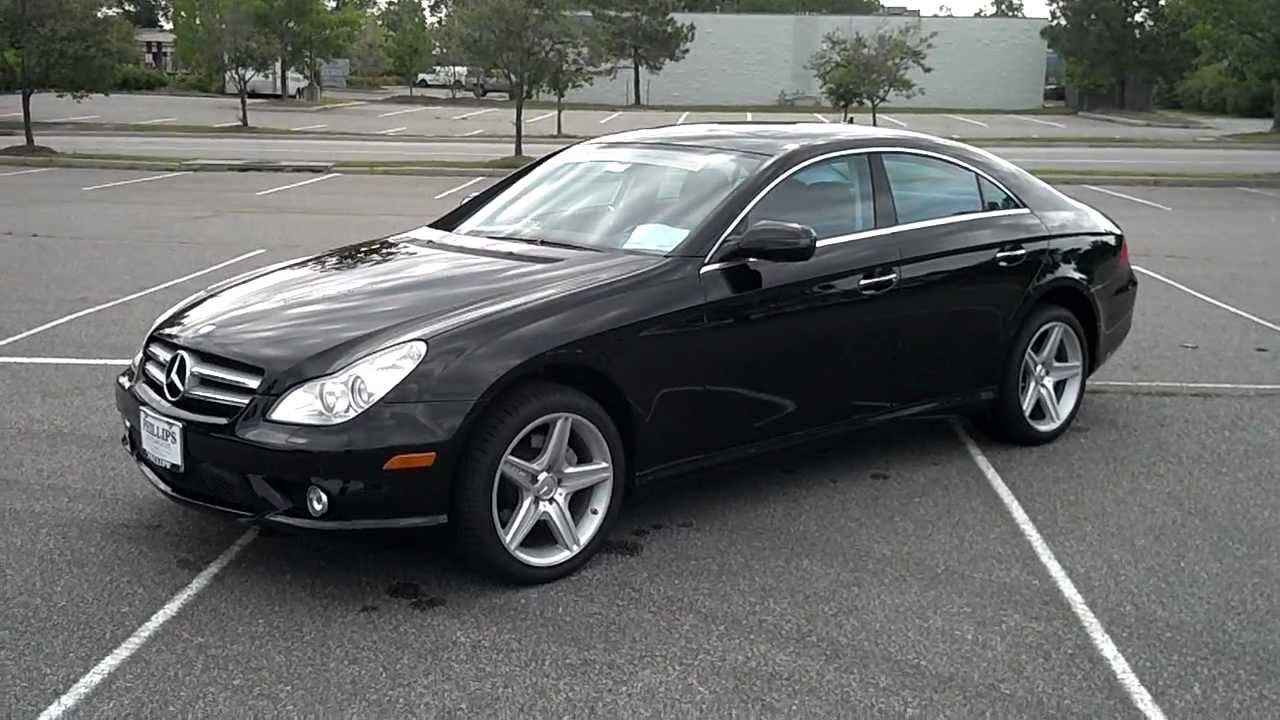 2009 mercedes benz cls550 virginia beach va youtube. Black Bedroom Furniture Sets. Home Design Ideas