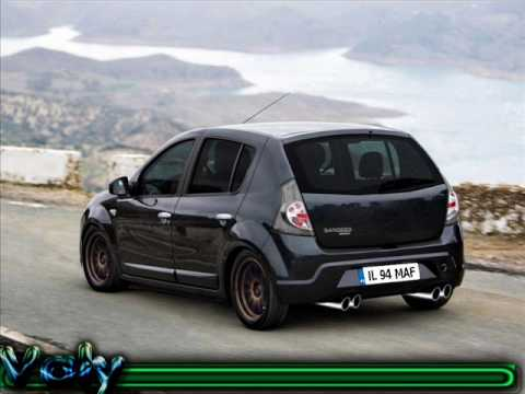 dacia sandero tuning by valy youtube. Black Bedroom Furniture Sets. Home Design Ideas