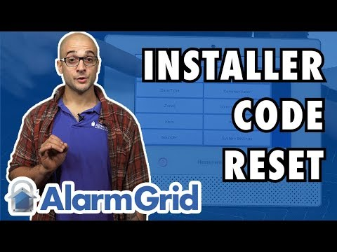 Reset the Lyric Alarm System's Installer Code