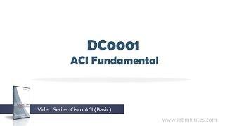 LabMinutes# DC0001 - ACI Fundamental