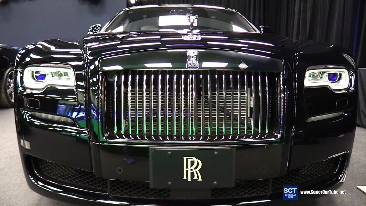 2017 Rolls Royce Ghost Series Ii Exterior And Interior Walkaround Montreal Auto Show You