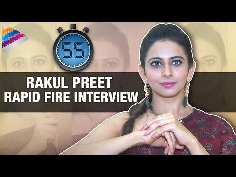 Rakul Preet Exclusive Rapid Fire Interview | Sarrainodu Movie | Rapid 55 | Telugu Filmnagar