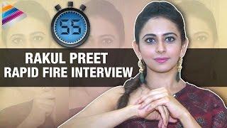 Rakul preet exclusive rapid fire interview   sarrainodu movie   rapid 55   telugu filmnagar